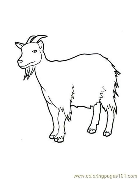free printable coloring pages goats free coloring pages of goats and sheep