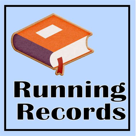 Free Data Records Running Records The Curriculum Corner 123