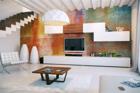 Bunte Wohnzimmermöbel by Moderne Fernsehwand F 252 R Einen Noch Angenehmen Filmabend