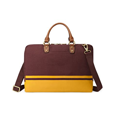 Fossil Bag Ori 1 fossil estate varsity document bag in for lyst