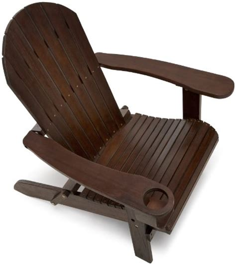 Brown Adirondack Chairs by Strathwood Basics Adirondack Chair Brown Free Shipping New Ebay