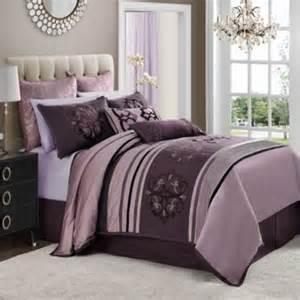Purple Comforter Set Bed Bath And Beyond 4 Comforter Set