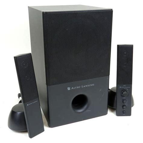 Speaker Komputer Altec Lansing altec lansing pc powered speaker audio system subwoofer