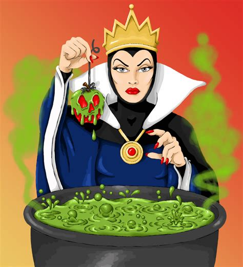 apple queen evil queen prepares apple villains pinterest evil queens