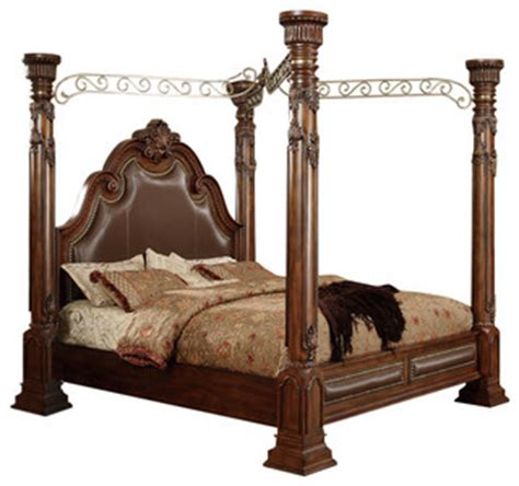 victorian canopy bed calidonian cherry queen canopy post bed victorian