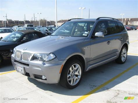 2007 bmw x3 change 2007 silver grey metallic bmw x3 3 0si 26881784
