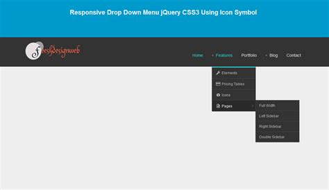 30 free css jquery drop menu plugins tutorial