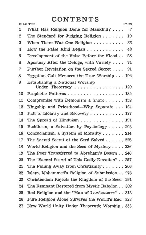 Bible Table Of Contents by Bible Contents Images Frompo 1