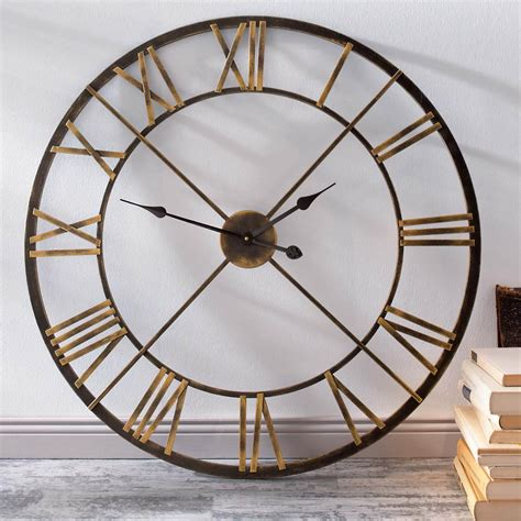 big wall clocks top 17 big wall clock designs mostbeautifulthings