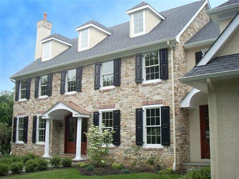 veneer brick exterior home design