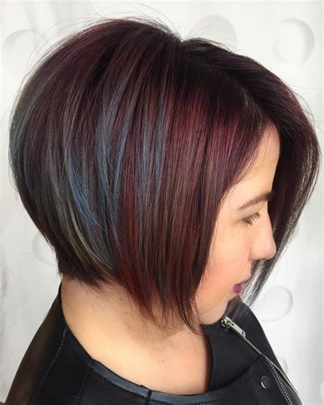uneven bob for thick hair 34 greatest short haircuts and hairstyles for thick hair