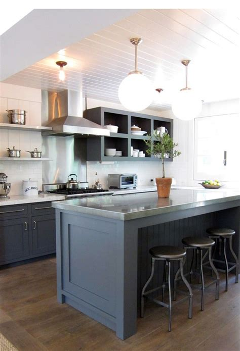 Grey Kitchen Cabinets by 66 Gray Kitchen Design Ideas Decoholic