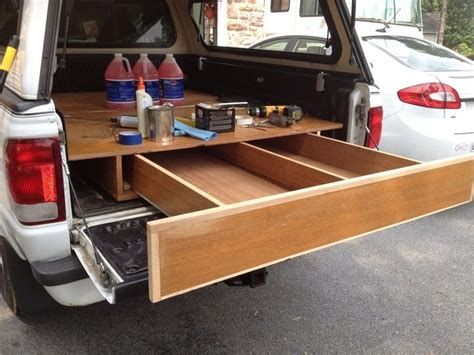 Truck Bed Drawers Diy by How To Install A Sliding Truck Bed Drawer System Diy