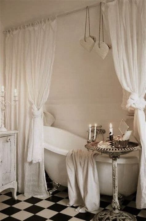 Bathtub Curtain by Clawfoot Tub With Curtains Traditional Bathroom