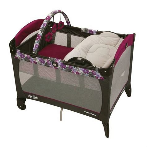 Graco Pack And Play With Bassinet And Changing Table Graco Pack N Play Playard W Napper Bassinet Changer Portia 187