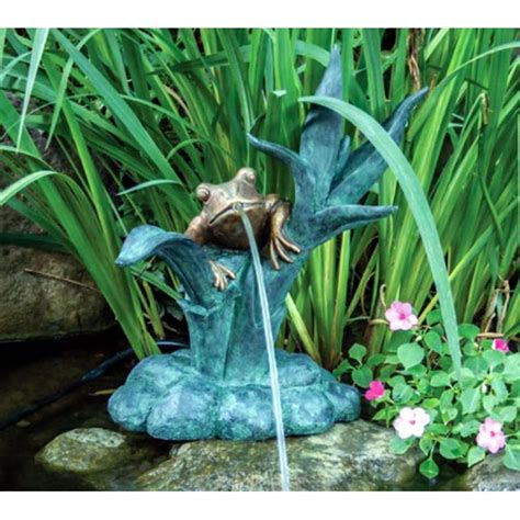 Lu Uv Aquascape dragonfly spitter by aquascape 174 this decorative dragonfly spitter is a 25 inches high decora