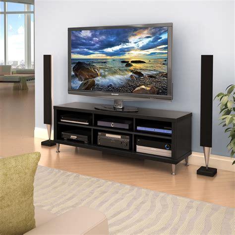 55 inch entertainment center valhalla broadway black 55 inch tv stand contemporary