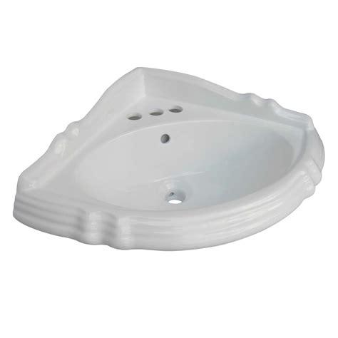 pedestal only for basin pedestal corner sink white china sheffield basin only