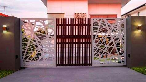 creative gate ideas modern front gate design