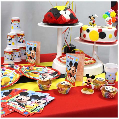 Decoration Gateau Anniversaire Mickey by Assiettes Mickey D 233 Co Anniversaire Enfant F 233 Ezia