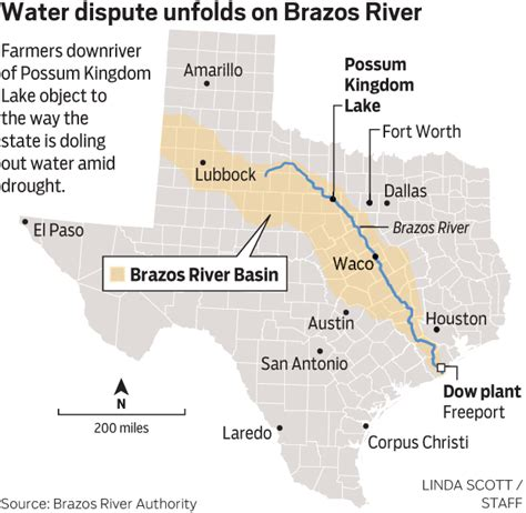 brazos river texas map battle of the brazos