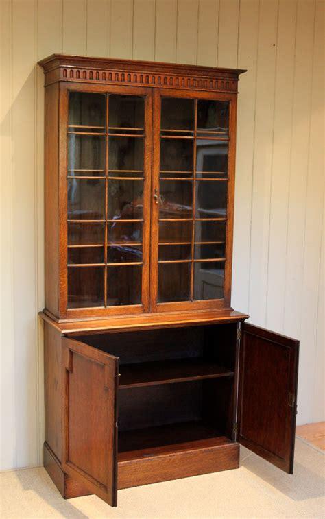 golden oak cabinet doors golden oak cabinet bookcase antiques atlas