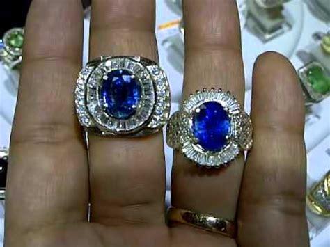 cincin wanita blue kyanite cincin batu blue saphire kyanite 1