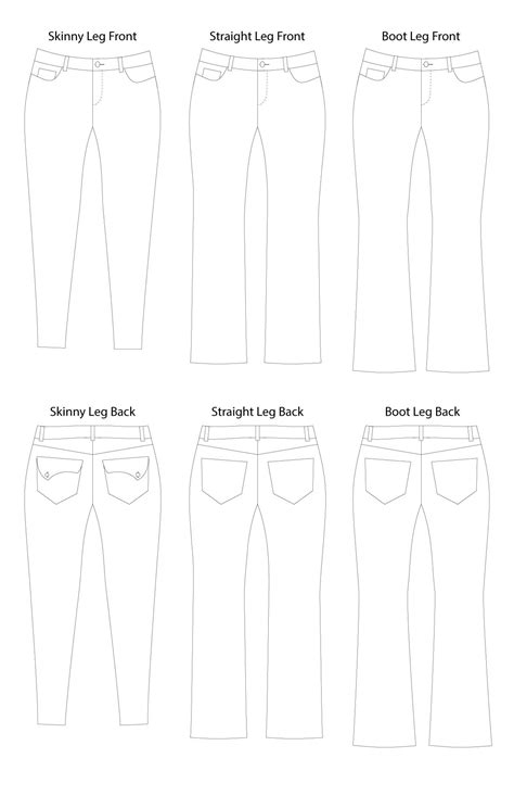 jeans pattern pdf liana stretch jeans digital sewing pattern pdf itch to