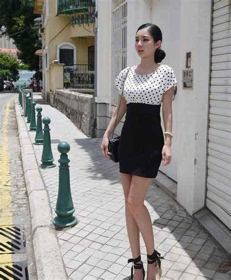 Dress Import China Kode Cc16025 1 mini dress polkadot terbaru model terbaru jual murah import kerja