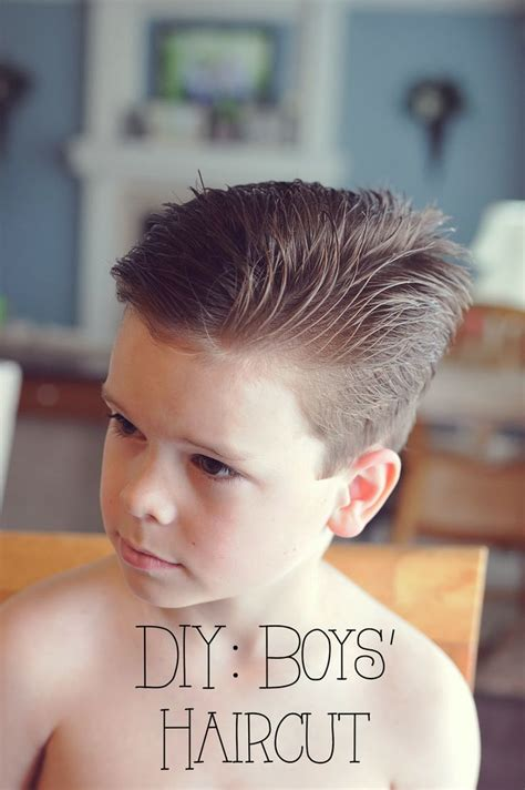 Diy Boy Haircuts | my 4 misters their sister diy boys haircut for the