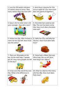 maths word problems differentiated worksheets y3 by l