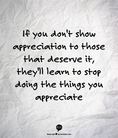 Quotes About Appreciating What You
