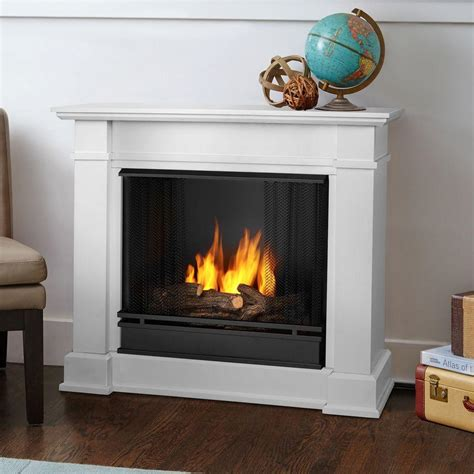 gel fuel fireplace real devin 36 in ventless gel fuel fireplace in