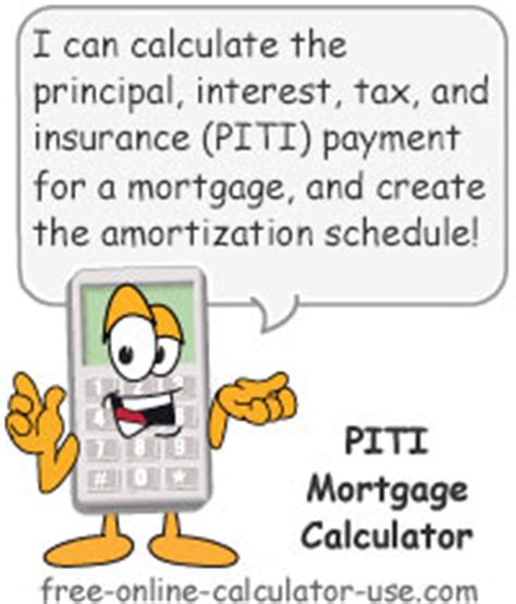 calculate my house payment with taxes and insurance piti mortgage calculator with jaw dropping work hour feature