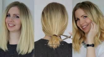 frisuren lange haare selber schneiden bob selber schneiden do it yourself anleitung f 252 r den clavicle cut romistyle