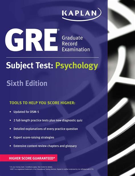 gre test gre subject test psychology book by kaplan test prep