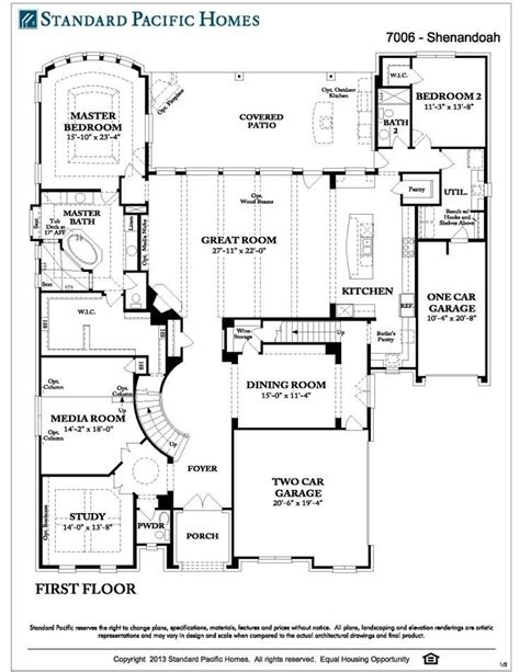 standard home plans standard pacific homes floor plans unique 10 best floor