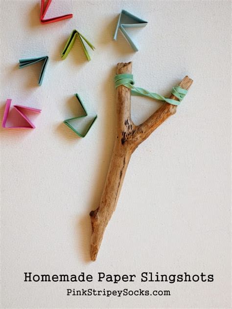 How To Make Paper Slingshot - image gallery slingshot craft