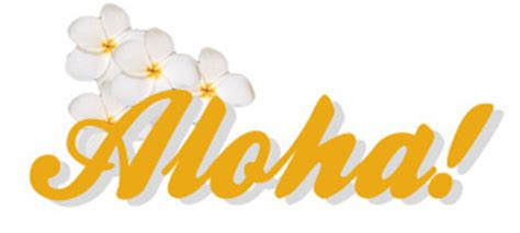 My Hawaiian Page!