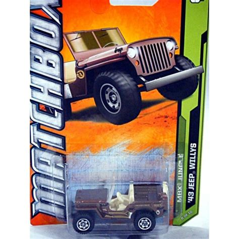 matchbox jeep willys matchbox 1943 jeep willys global diecast direct