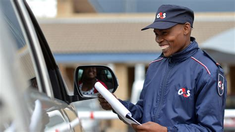 G4s Security Guard by Namibia