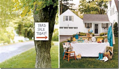 how to hold a successful garage or yard sale simplified bee