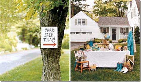 Backyard Yard Sales Organized Garage Sales Get Inspired Simply Organized