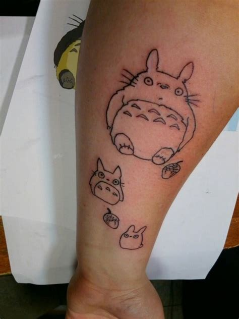 totoro tattoos the gallery for gt totoro outline