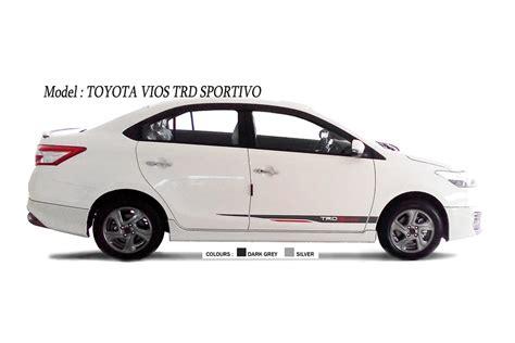 Stiker Trd Sportivo Model Toyota 2015 Warna Stiker H 1 car accessories wheel covers car mat malaysia aluminium front grille car seat cover