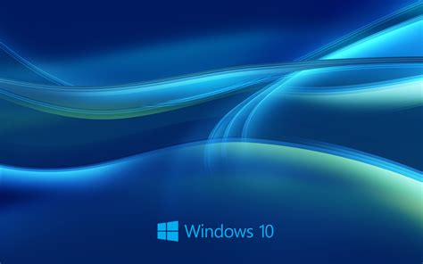 best blue windows 10 system abstract blue background wallpaper