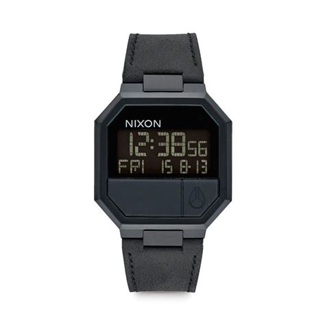 Nixon The Re Run nixon re run leather all black 119 00 accessori
