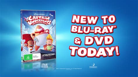 new blu ray movies youtube captain underpants new to blu ray dvd youtube