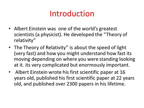 albert einstein biography theory of relativity albert einstein by sophie mc nicholl ppt video online
