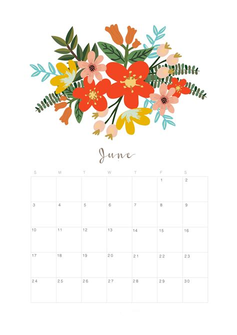 june chinese calendar   printable templates